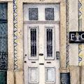 White Porto Door