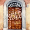 Rome Graffiti Door 5sold