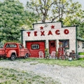 Vintage Texaco in the County
