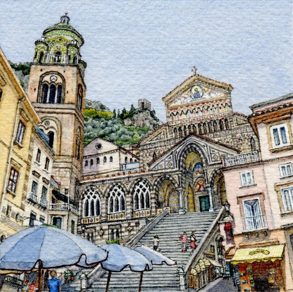 Piazza del Duomo, Amalfi
