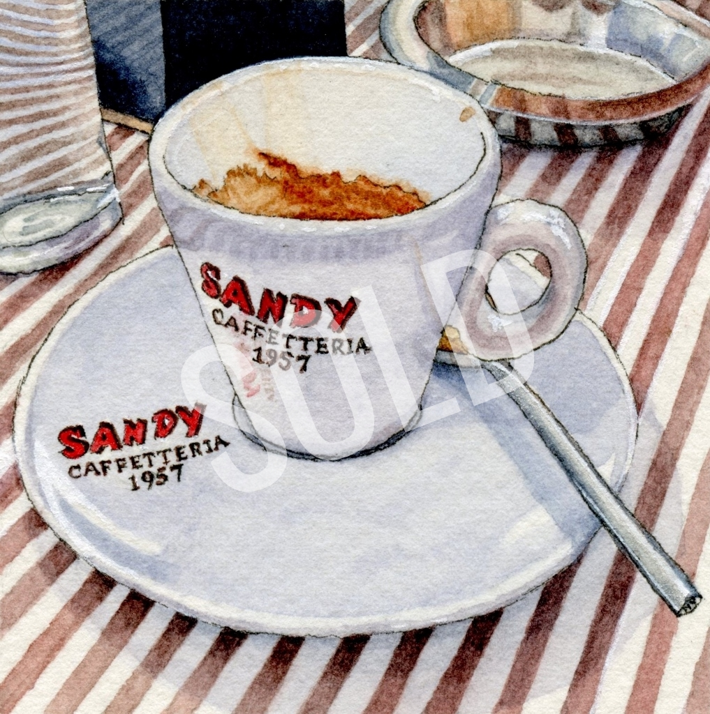 Coffee In Arezzo SOLD
